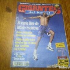 Coleccionismo deportivo: REVISTA DE GIGANTES DEL BASKET AÑO 1998 N° 679 JACKIE ESPINOSA JORDAN IVÁN CORRALES PINTURAS BRUGUER. Lote 164799866