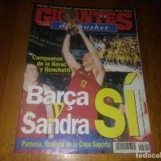 Collezionismo sportivo: REVISTA DE GIGANTES DEL BASKET AÑO 1999 N° 701 ALFONS ALBERT PAMESA VALENCIA. Lote 164807366