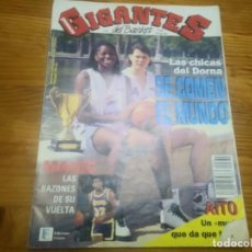 Coleccionismo deportivo: REVISTA DE GIGANTES DEL BASKET AÑO 1992 N° 362 PÓSTER DORNA GODELLA CAMPEON MUNDIAL CLUBES. Lote 164809674