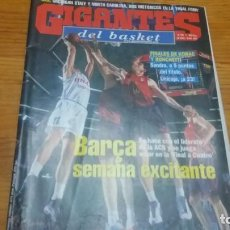 Coleccionismo deportivo: REVISTA DE GIGANTES DEL BASKET AÑO 2000 N° 752 PÓSTER MILAN GUROVIC BARCELONA. Lote 164812698