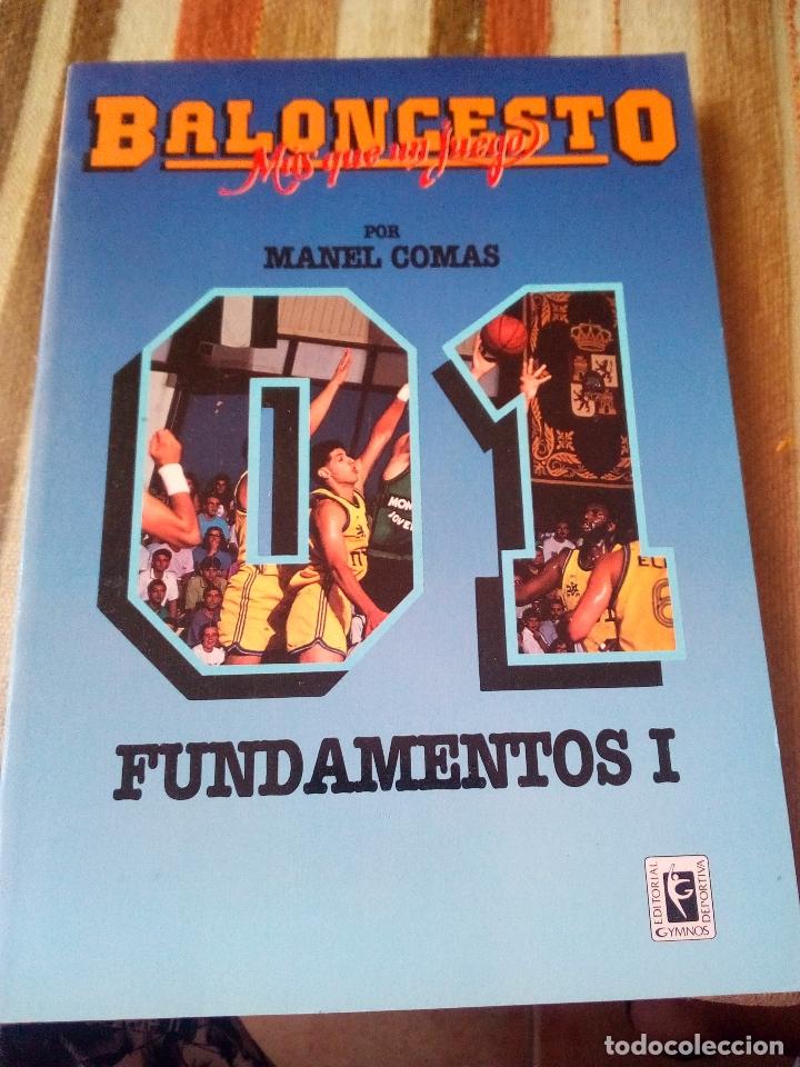 Coleccionismo deportivo: -BALONCESTO MAS QUE UN JUEGO-MANUEL COMAS -20 TOMOS COMPLETA -1991 - Foto 2 - 165507474