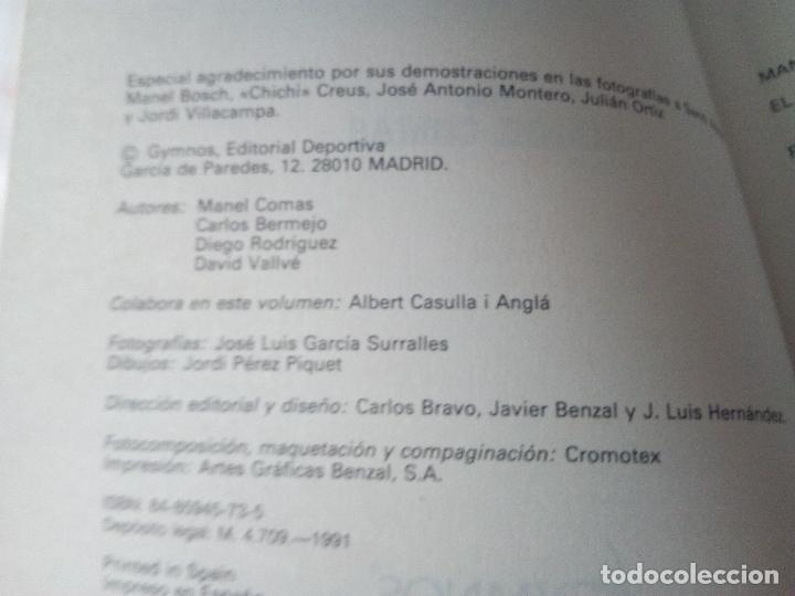 Coleccionismo deportivo: -BALONCESTO MAS QUE UN JUEGO-MANUEL COMAS -20 TOMOS COMPLETA -1991 - Foto 4 - 165507474