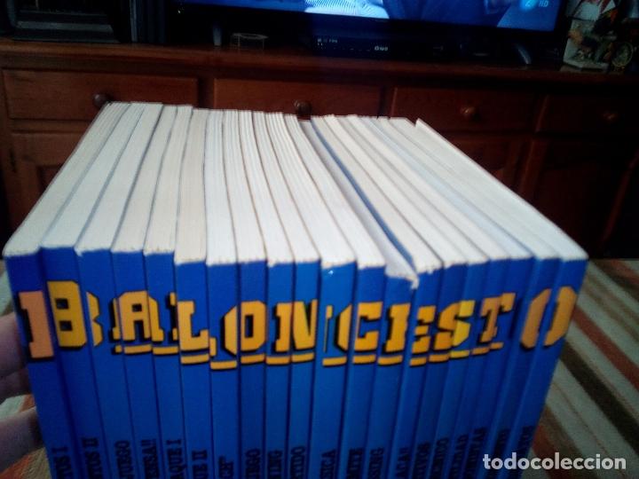 Coleccionismo deportivo: -BALONCESTO MAS QUE UN JUEGO-MANUEL COMAS -20 TOMOS COMPLETA -1991 - Foto 8 - 165507474