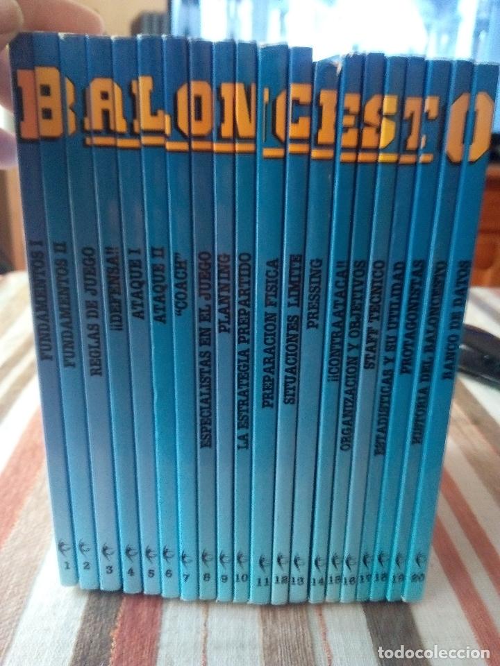 -BALONCESTO MAS QUE UN JUEGO-MANUEL COMAS -20 TOMOS COMPLETA -1991 (Coleccionismo Deportivo - Libros de Baloncesto)