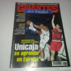 Coleccionismo deportivo: REVISTA DE GIGANTES DEL BASKET AÑO 1993 N° 407 PÓSTER ESTADISTICAS Y ARTE ACB. Lote 165798502
