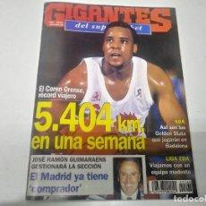Coleccionismo deportivo: REVISTA DE GIGANTES DEL BASKET AÑO 1994 JORDI SOLER MIDWEST DIVISION N° 468 . Lote 165799378