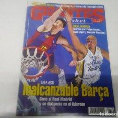 Coleccionismo deportivo: REVISTA DE GIGANTES DEL BASKET AÑO 2000 N° 754 PÓSTER JEAN JAQUES CONCEIÇAO UNICAJA MÁLAGA . Lote 165799738
