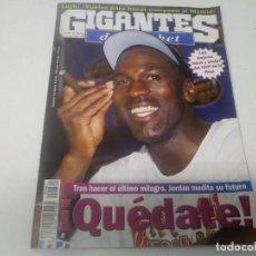 Collezionismo sportivo: REVISTA DE GIGANTES DEL BASKET AÑO 1998 N° 660 PÓSTER MICHAEL JORDAN NBA MVP . Lote 165800718
