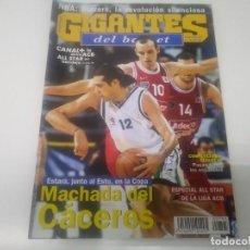 Colecionismo desportivo: REVISTA DE GIGANTES DEL BASKET AÑO 2001 N° 795 . Lote 166243182
