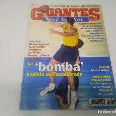 Collezionismo sportivo: REVISTA DE GIGANTES DEL BASKET AÑO 2000 N° 787 NAVARRO ALBERTO HERREROS POSTER DERRICK ALSTON PAMESA. Lote 166276554