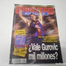 Collezionismo sportivo: REVISTA DE GIGANTES DEL BASKET AÑO 1998 N° 676 PÓSTER BRIAN SALLIER UNICAJA MALAGA . Lote 166325642