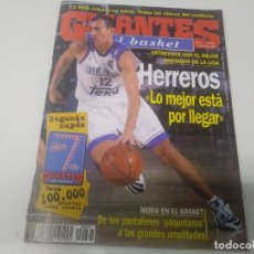 Collezionismo sportivo: REVISTA DE GIGANTES DEL BASKET AÑO 1998 N° 677 ALBERTO HERREROS POSTER DEVIN DAVIS GRAN CANARIA. Lote 166335198