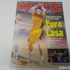 Collezionismo sportivo: REVISTA DE GIGANTES DEL BASKET AÑO 1998 N° 651 POSTER RODRIGO DE LA FUENTE BARCELONA BARÇA. Lote 166355530