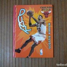 Collectionnisme sportif: ARCHIVADOR CHICAGO BULLS SCOTTIE PIPPEN 1997. NBA. 24 X 19 CM. Lote 166372186
