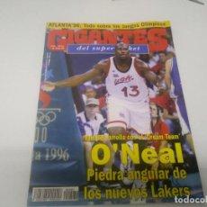 Coleccionismo deportivo: REVISTA DE GIGANTES DEL BASKET AÑO 1996 N° 560 . Lote 166570222