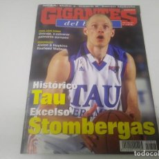 Coleccionismo deportivo: REVISTA DE GIGANTES DEL BASKET AÑO 2001 N° 806 POSTER LOMAR ODOM LOS ANGELES CLIPPERS. Lote 166570770