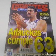 Coleccionismo deportivo: REVISTA DE GIGANTES DEL BASKET AÑO 1996 N° 538 . Lote 166570946