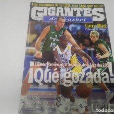 Colecionismo desportivo: REVISTA DE GIGANTES DEL BASKET AÑO 1999 N° 723 POSTER CHARLES KORNEGAY FUENLABRADA . Lote 166571178