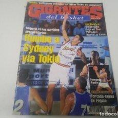 Collezionismo sportivo: REVISTA DE GIGANTES DEL BASKET AÑO 2000 N° 774. Lote 166572082