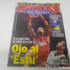 Collezionismo sportivo: REVISTA DE GIGANTES DEL BASKET AÑO 1998 N° 673 POSTER TERQUIN MOTT TDK MANRESA . Lote 166572278