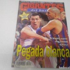 Coleccionismo deportivo: REVISTA DE GIGANTES DEL BASKET AÑO 1998 N° 649 POSTER DAVID BRABENDER FORUM FILATÉLICO. Lote 166574450