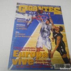 Coleccionismo deportivo: REVISTA DE GIGANTES DEL BASKET AÑO 2001 N° 801. Lote 166574750