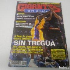 Coleccionismo deportivo: REVISTA DE GIGANTES DEL BASKET AÑO 2000 N° 784 . Lote 166574990