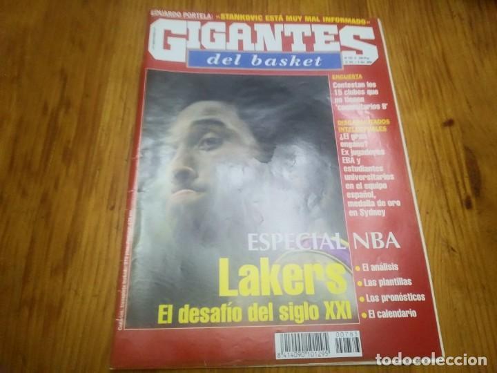 REVISTA DE GIGANTES DEL BASKET AÑO 2000 N° 783 (Coleccionismo Deportivo - Libros de Baloncesto)