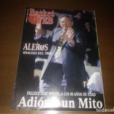 Coleccionismo deportivo: REVISTA DE BASKET FEB AÑO 2000 N° 13 DIAZ MIGUEL ALL STARS LLEIDA. Lote 166874580