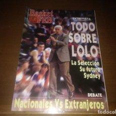 Coleccionismo deportivo: REVISTA DE BASKET FEB AÑO 2000 N° 21. Lote 166875444