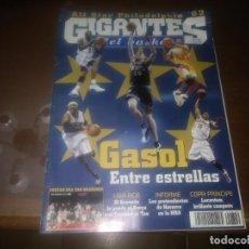 Coleccionismo deportivo: REVISTA DE GIGANTES DEL BASKET AÑO 2002 N° 849 PORTADA PAU GASOL POSTER TAU CERAMICA BASKONIA. Lote 166956936