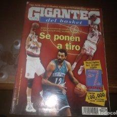 Collezionismo sportivo: REVISTA DE GIGANTES DEL BASKET AÑO 1998 N° 678 XAVI SÁNCHEZ BERNAT MURCIA . Lote 166958140