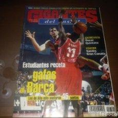 Coleccionismo deportivo: REVISTA DE GIGANTES DEL BASKET AÑO 2000 N° 742 SANDRA GRAN CANARIA CAMPEON COPA LA REINA. Lote 166958680