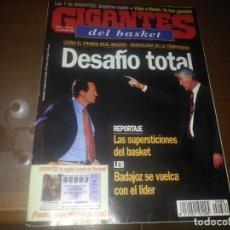 Collezionismo sportivo: REVISTA DE GIGANTES DEL BASKET AÑO 1998 N° 684. Lote 166959760
