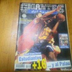 Collezionismo sportivo: REVISTA DE BALONCESTO GIGANTES DEL BASKET AÑO 1999 N° 700 COPA KORAC POSTER FERNANDO MARTIN. Lote 167662196