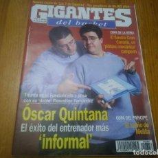 Collezionismo sportivo: REVISTA DE GIGANTES DEL BASKET AÑO 1998 N° 686. Lote 168209860