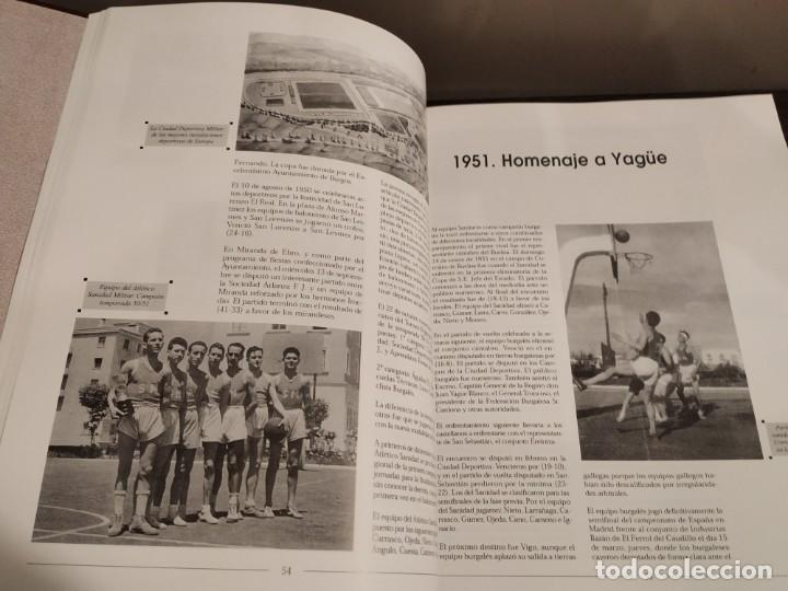 Coleccionismo deportivo: HISTORIA DEL BALONCESTO EN BURGOS 1940- 2000 JUAN MANUEL CRESPO DELGADO. - Foto 4 - 169091148