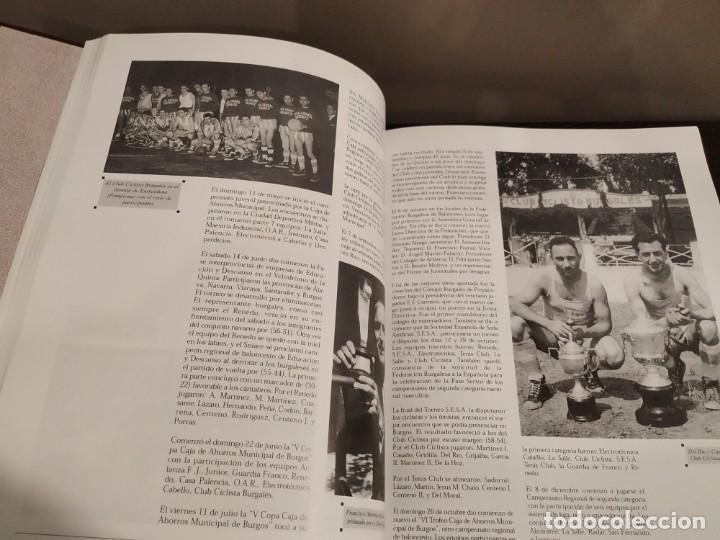 Coleccionismo deportivo: HISTORIA DEL BALONCESTO EN BURGOS 1940- 2000 JUAN MANUEL CRESPO DELGADO. - Foto 6 - 169091148