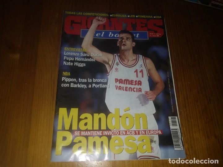 REVISTA GIGANTES DEL BASKET AÑO 1999 N° 727 (Coleccionismo Deportivo - Libros de Baloncesto)