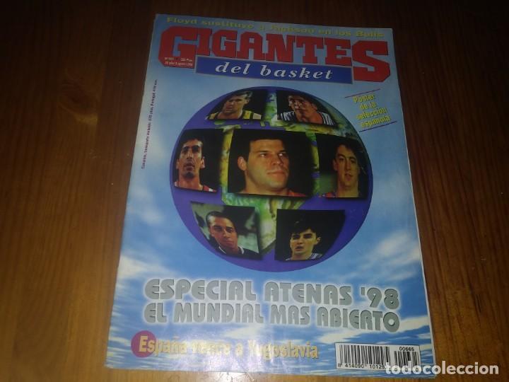 REVISTA GIGANTES DEL BASKET AÑO 1998 N° 665 (Coleccionismo Deportivo - Libros de Baloncesto)