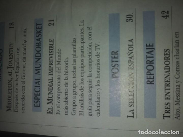 Coleccionismo deportivo: Revista GIGANTES del BASKET año 1998 N° 665 - Foto 3 - 169442056