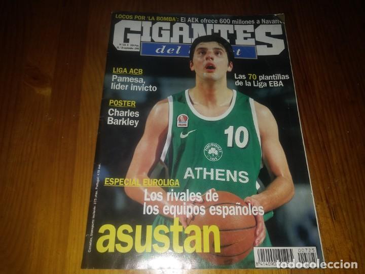 REVISTA GIGANTES DEL BASKET AÑO 1999 N° 725 (Coleccionismo Deportivo - Libros de Baloncesto)