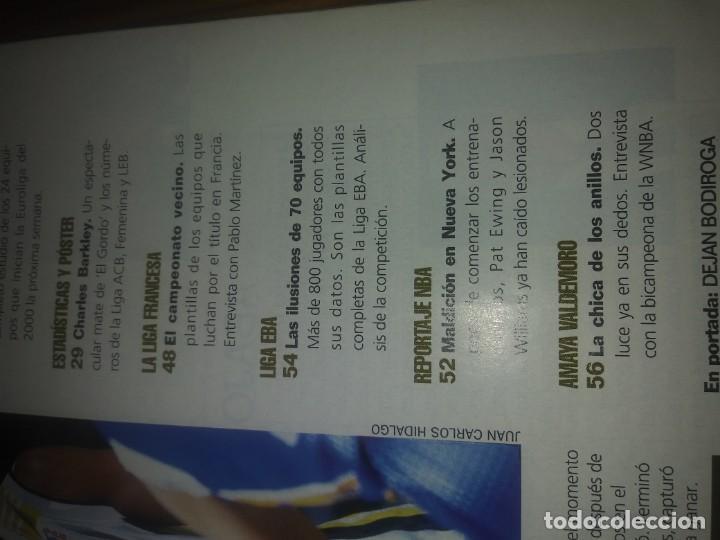 Coleccionismo deportivo: Revista GIGANTES del BASKET año 1999 N° 725 - Foto 3 - 169442704