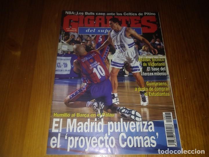 REVISTA GIGANTES DEL BASKET AÑO 1997 N° 627 (Coleccionismo Deportivo - Libros de Baloncesto)