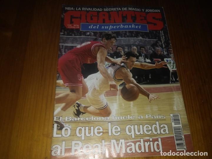 REVISTA GIGANTES DEL BASKET AÑO 1996 N° 541 (Coleccionismo Deportivo - Libros de Baloncesto)