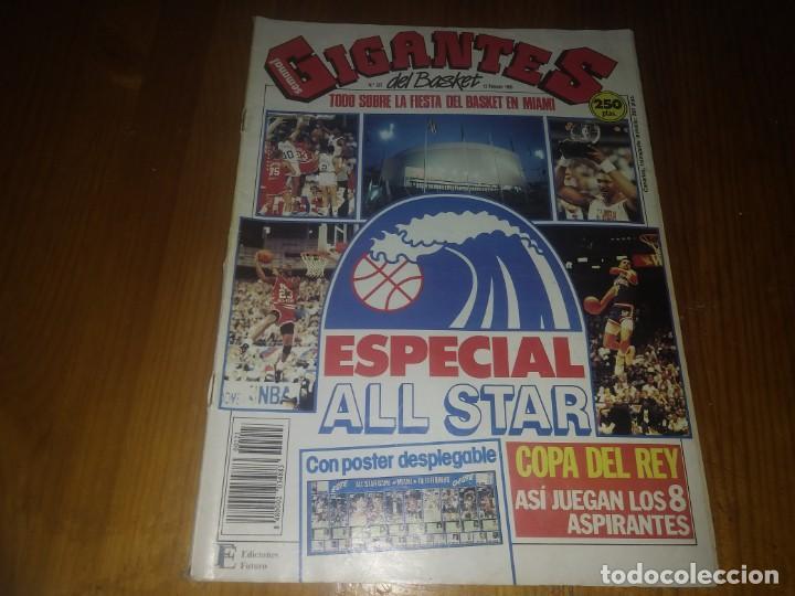 REVISTA GIGANTES DEL BASKET AÑO 1990 N° 223 (Coleccionismo Deportivo - Libros de Baloncesto)