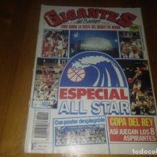 Coleccionismo deportivo: REVISTA GIGANTES DEL BASKET AÑO 1990 N° 223. Lote 169452676