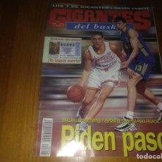 Colecionismo desportivo: REVISTA GIGANTES DEL BASKET AÑO 1998 N° 683. Lote 169453360