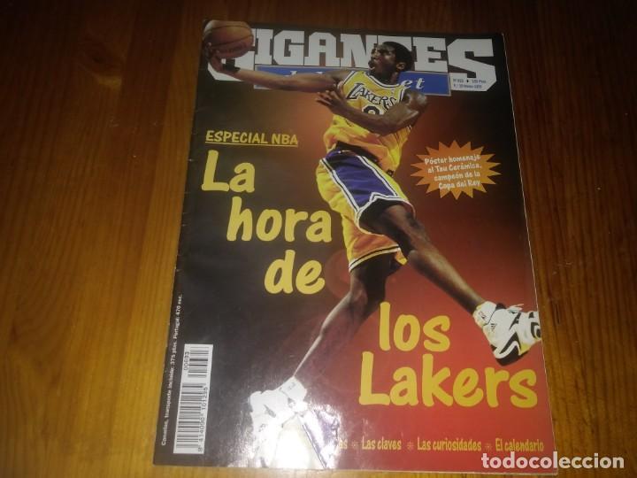 REVISTA GIGANTES DEL BASKET AÑO 1999 N° 693 (Coleccionismo Deportivo - Libros de Baloncesto)