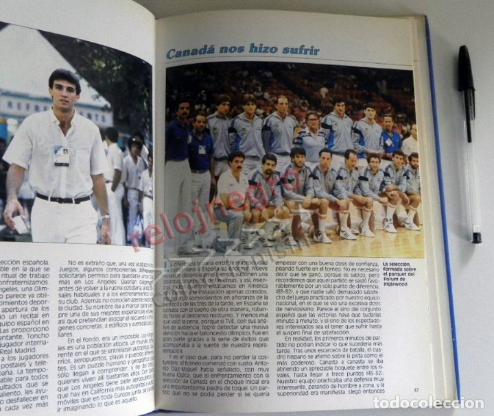 Coleccionismo deportivo: PLATA EN LOS ÁNGELES LIBRO BALONCESTO HISTORIA JJOO DEPORTE SELECCIÓN JUEGOS OLÍMPICOS ESPAÑA MEDALL - Foto 4 - 228722800